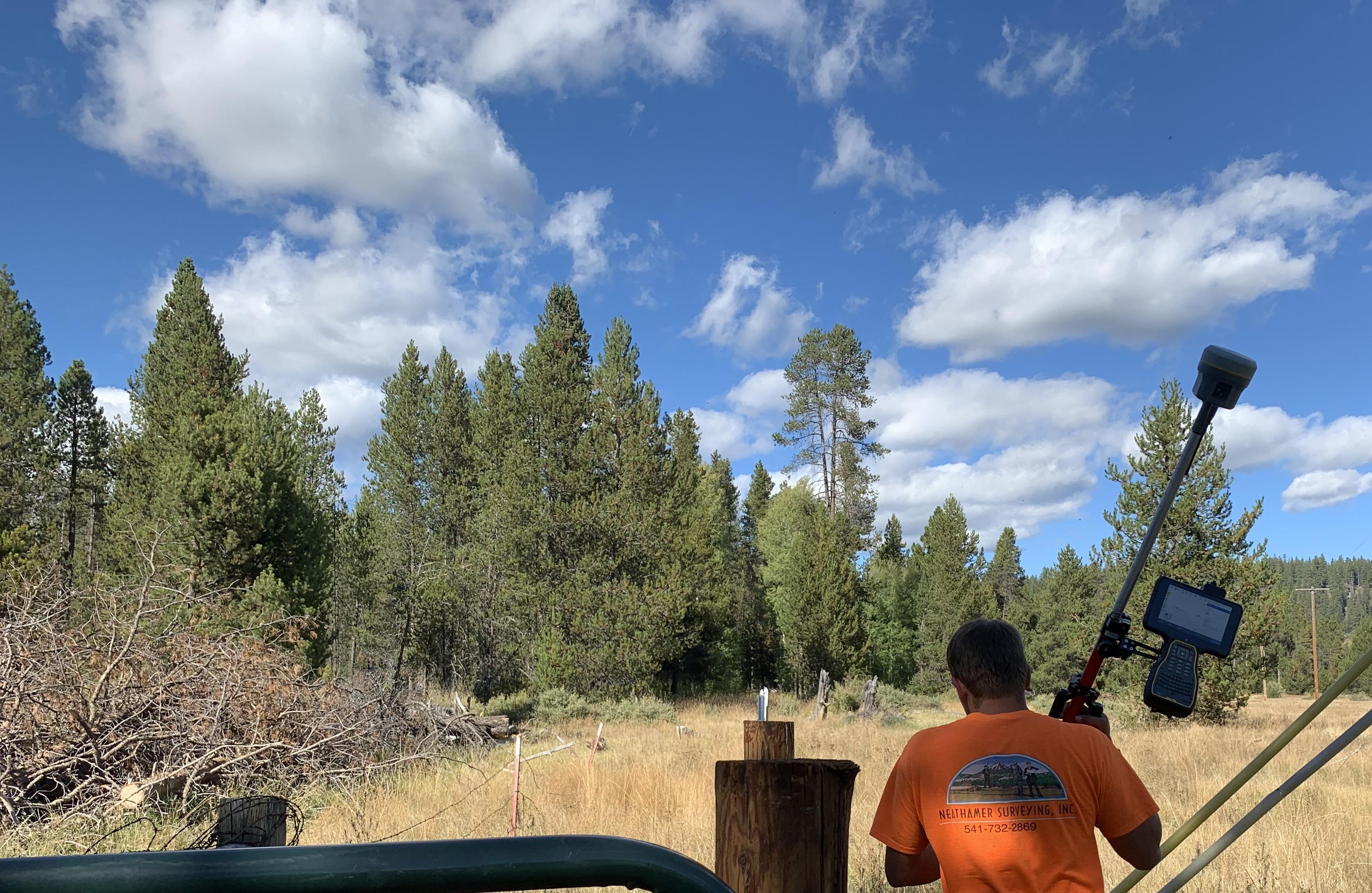 Surveying In Oregon